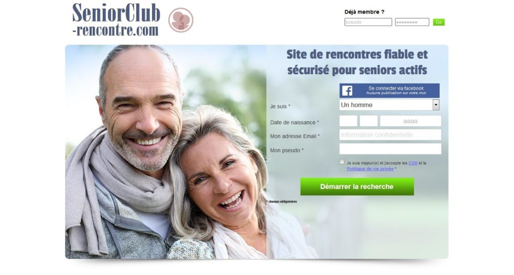 Senior Club Rencontre accueil inscription