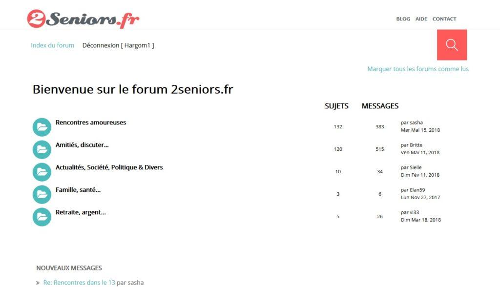 2seniors forum